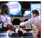Static In-Game-Advertising von Burger King in Fight Night Round 3 von EA