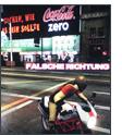 Dynamic In-Game-Advertising von Coke Zero in Project Gotham Racing 4 von Microsoft